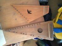 PSALTERY. Wooden Harps.