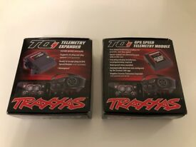 Traxxas 6550 Telemetry Expander & 6551 GPS Module Bundle! NEW!