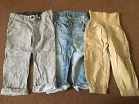 H&M trousers x3