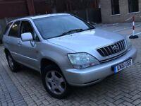 2002 LEXUS RX 300 3.0 AUTOMATIC PETROL 4X4 JEEP GREAT DRIVE SPACIOUS 5 SEAT LONG MOT N QASHQAI X3 ML