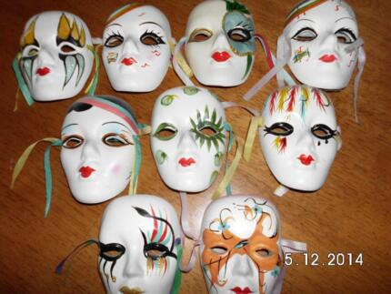 wall hanging face masks Muswellbrook Muswellbrook Area Preview