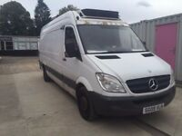 MERCEDES SPRINTER FRIDGE LWB , 2009REG, VAN FOR SALE