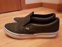 Womens Vans slip on shoes - size UK 5.5. - Mint condition