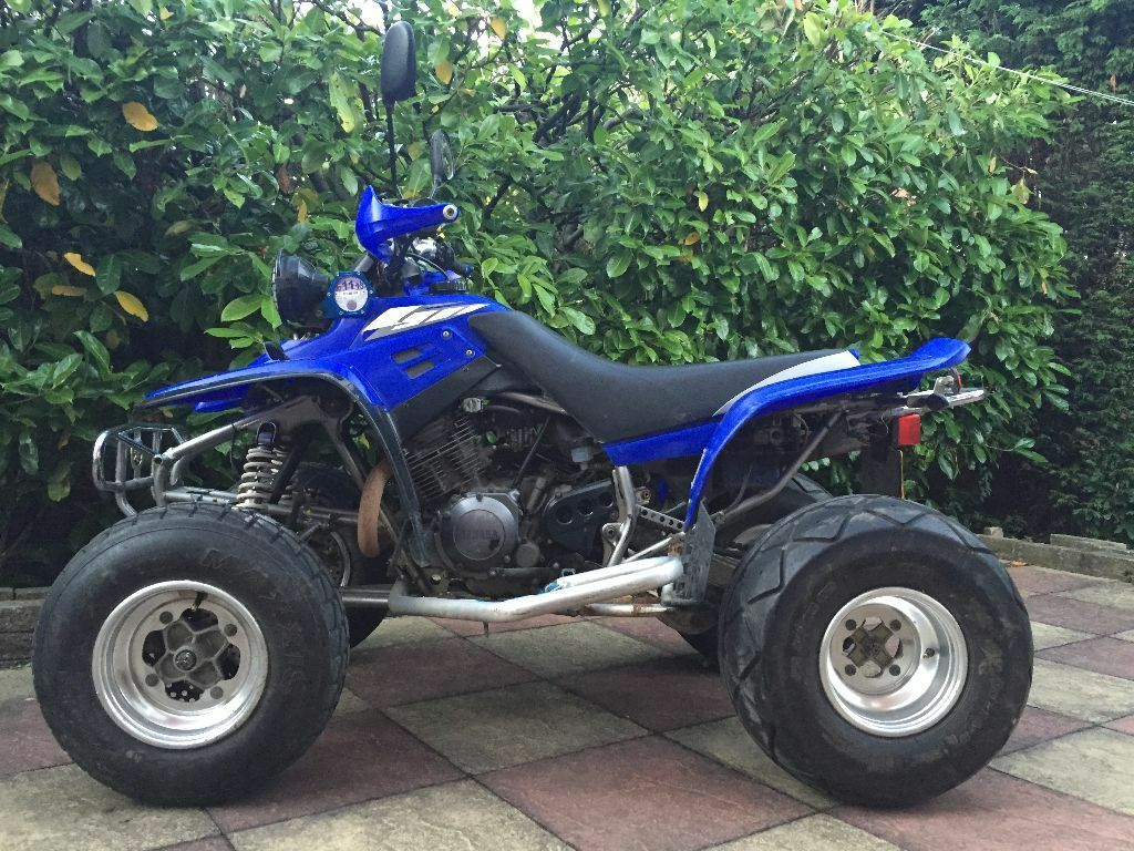2005 yamaha warrior raptor yfm 350 cc quad bike atv original condition road legal mot 39 d. Black Bedroom Furniture Sets. Home Design Ideas