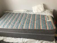 Free to collect single bed, base and mattress