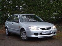 2002 Mazda 323 Five door 1.3**Low miles** Long Mot** (clio,fiesta,megane,astra,ka,yaris,206,306,