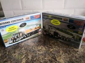 Vista construction toy trucks from MONTI systems