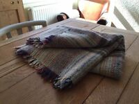 National Trust 100% Wool Rug / Blankets