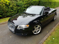 FACELIFT 2007 AUDI A4 2.0 TDI SPOTR CABRIOLET 140BHP,VERY GOOD CONDITION