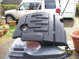 DISCOVERY 3 ENGINE COVER WITH FOAM ATTACHED ALSO FOUR MUD FLAPS