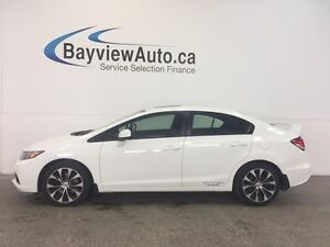 2013 Honda CIVIC SI- 6 SPD! ALLOYS! HEATED SEATS! NAV! REV CAM!