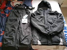 Mens Ski Trousers and Jacket Set Brand New Never Worn
