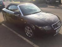 Audi A4 Cabroliet 3.0 Quattro auto FULL SERVICE HISTORY Cambelt + water pump replaced this year!