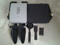 GEORGE FOREMAN ENTERTAINING 10 PORTION GRILL & GRIDDLE HEALTH GRILL