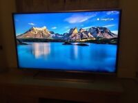 Panasonic TX40DS500B 40 Inch Smart Wi-Fi Built-in Full HD LED TV Freeview HD