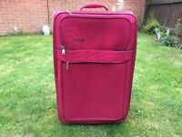 Red Skylight Suitcase
