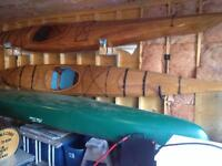 Beautiful Hand-made Wooden kayaks for sale