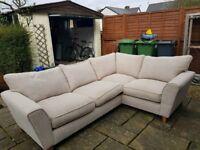 SCS Lois Beige Corner Sofa