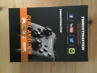 Thrustmaster PC & Mac USB controller (boxed, never used)
