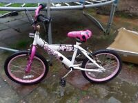 Perfect size bike for little girls