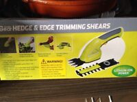 Electric hedge and edge trimmer