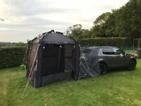 Land Rover rear tent