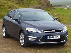 2011 61 Ford MONDEO Titanium-X 2.0 Diesel PowerShift, lOw Mileage, Leather, History, Magnificent...