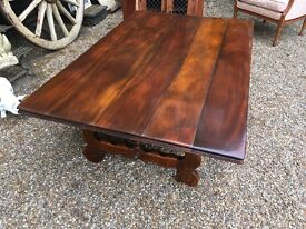 TOP QUALITY FABULOUS SOLID COFFEE TABLE