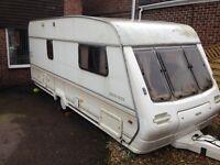 1980's trophy caravan spares or repairs has damp
