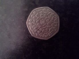 Have a collection of rare 50 pence coins