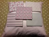 Patchwork Cushion Kit includes Feather Pad & Five FQ's Fabric - cash on collection Gosport Hampshire