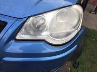 Polo 9n3 passenger headlight