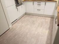 BRAND NEW! Lino / looks like tiles / floor linoleum