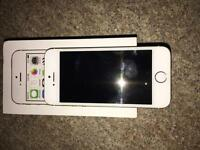 Apple iPhone 5s 16gb White & Gold all boxed & unlocked