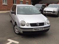 2004, (54 PLATE) VW POLO, 1.4 DIESEL TWIST TDI, LONG MOT, VERY LOW MILEAGE 66K ONLY, 5DR, SILVER