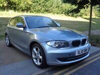 2010 BMW 1 SERIES MANUAL PETROL,3DOOR,FACELIFT,ONLY 50,000 MILES, PERFECT RUN...