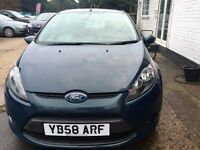 Ford Fiesta 1.25 Style 5dr £3,940 2009 LOW MILEAGE,NEWLY SERVICED