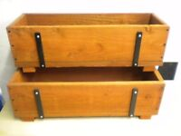 "WOODEN PLANTERS 24"" (610MM) LONG"