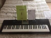 Casio full size light up keyboard *perfect condition*