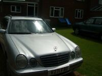 mercedes e320 elegance 7 seater estate.