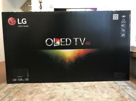 "OLED LG 55"" C6 4K EMPTY BOX"