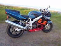 Honda fireblade RRX Urban Tiger 6000 miles on clock!