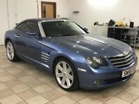 !!12 MONTHS MOT!! 2005 CHYRSLER CROSSFIRE / SERVICED / 3.2 SAME RUNNING GEAR AS MERCEDES / MUST SEE