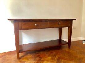Beautiful solid wood sideboard/hallway table