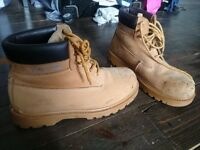 Safety steel cup boots. Size 12. Good condition