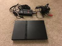 Sony PlayStation 2 Slim PS2 + 25 Games