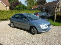 Ford Focus LX. 2005. Petrol. Manual gearbox. Climate control