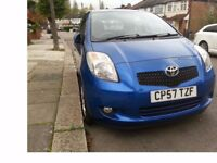 Toyota Yaris 1.3 T3 Automatic,2008, 5dr. Full Dealer service history