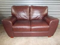 Quality Used Leather 2-seater Sofas