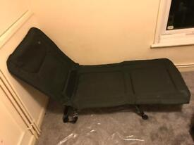 Fishing chair / bed folds away easy to carry